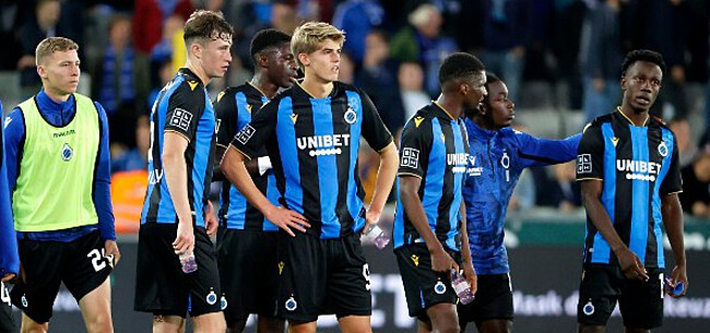Foto: Grote gebuisde bij Club Brugge: