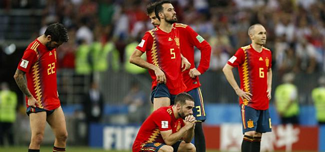 Foto: Spanje pakt in blessuretijd EK-ticket, Gent-spits voorkomt blamage