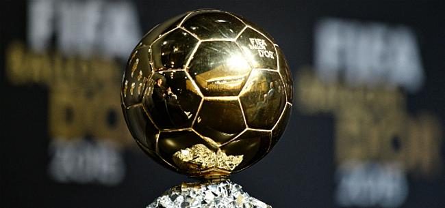 Foto: Lionel Messi troeft Van Dijk af en neemt de Gouden Bal in ontvangst