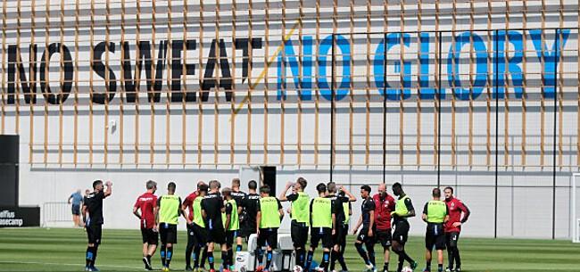 Foto: Club Brugge opgeschrikt door brand nabij oefencentrum
