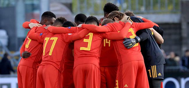 Foto: Belgische U17 zetten grote stap richting EK-kwalificatie