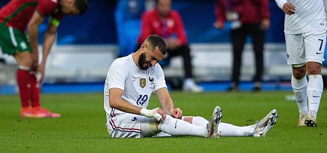 Foto: Frankrijk vreest zwaar EK-drama Benzema