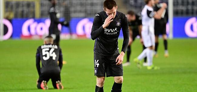 Foto: 'Anderlecht trekt conclusies: duo op de wip'