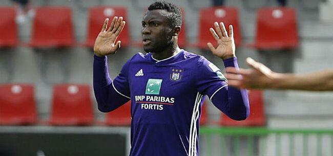 Foto: 'Anderlecht neemt drastische beslissing over Sanneh'