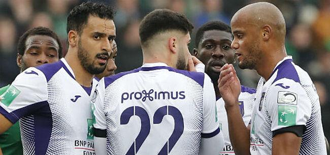 Foto: 'Anderlecht vraagt spelers om één maandloon af te staan'