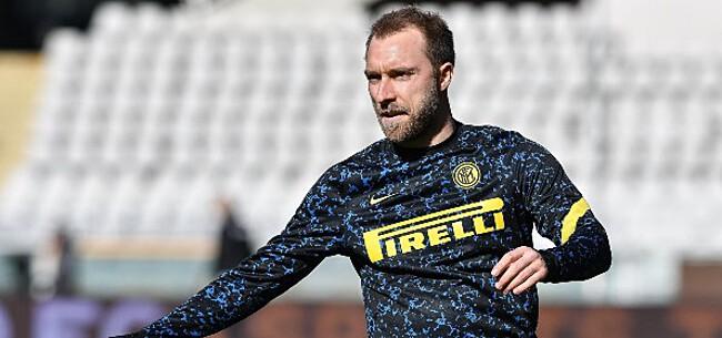 Foto: 'Inter-coach neemt beslissing over onfortuinlijke Eriksen'