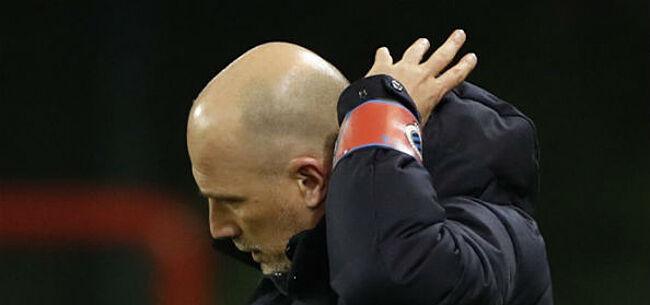 Foto: Inspiratieloos Club Brugge gooit nu ook met de punten tegen hekkensluiter