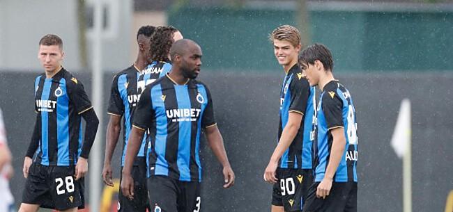 Foto: Club Brugge legt AEK Athene over de knie in oefenpartij