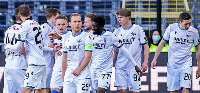 Foto: Aanvaller Club Brugge in vrije val