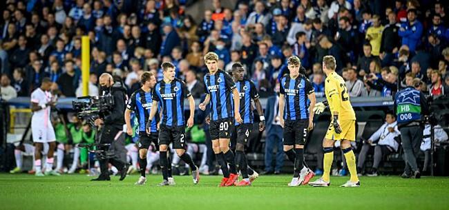 Foto: Fransen verbaasd door Club Brugge: