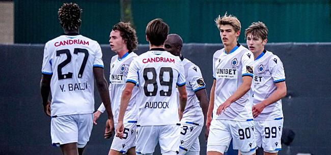 Foto: Club Brugge ziet af in oefenzege:
