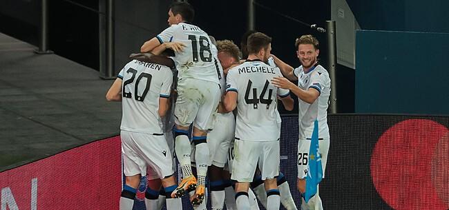Foto: Club Brugge op volle sterkte tegen Lazio: