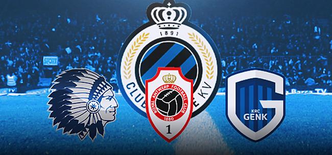 Foto: Waarom Club moet opletten voor Genk, Gent en Antwerp