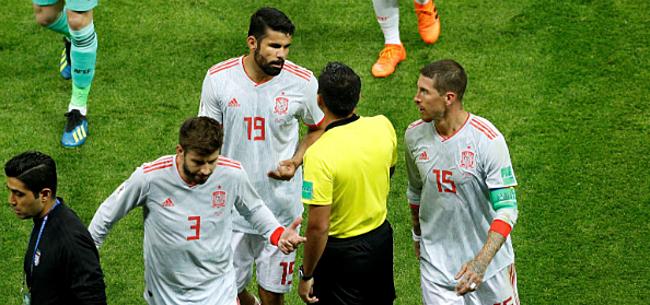Foto: Spanjaard krijgt volle lading:
