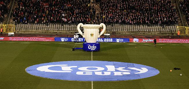 Foto: Zestiende finale Croky Cup baart meteen topaffiche