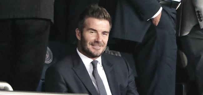 Foto: Beckham bevestigt megastunt: