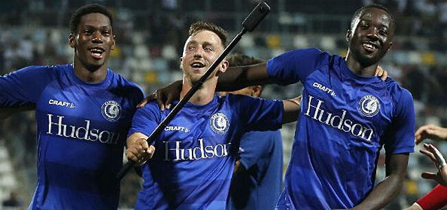 Foto: RB Salzburg liet parel van AA Gent schieten: