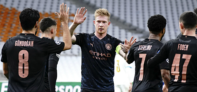 Foto: Engelse media lyrisch: De Bruyne heerst in Champions League