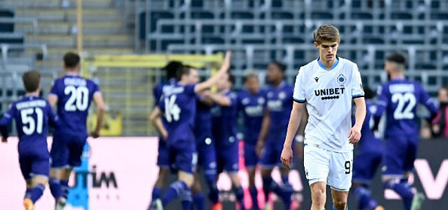 Foto: Anderlecht klopt Club Brugge na knappe remonte