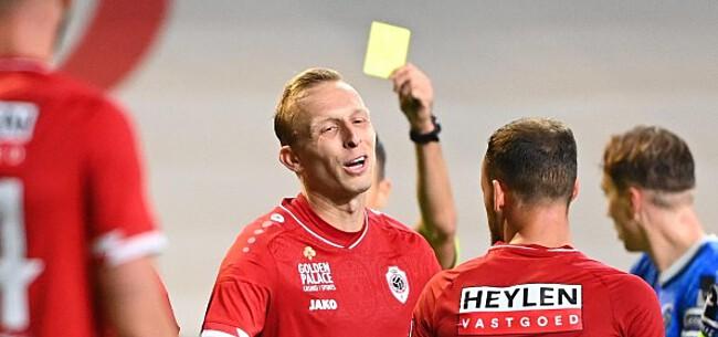 Foto: De Laet rekent af met Van Driessche: