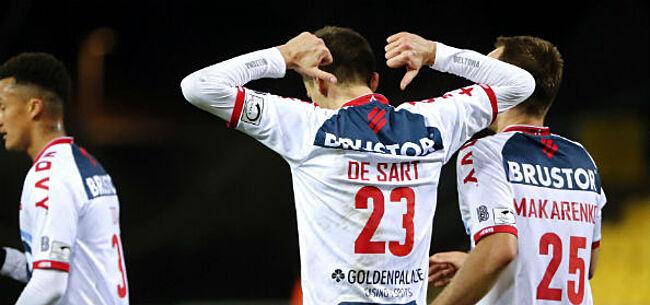 Foto: Waasland-Beveren ziet Cercle naderen na zeperd tegen KV Kortrijk