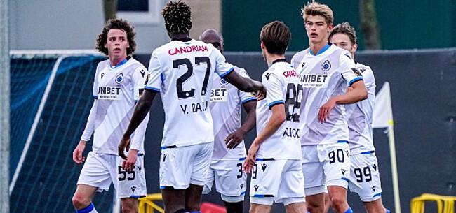 Foto: Club Brugge schuift nog extra jong talent door naar A-kern