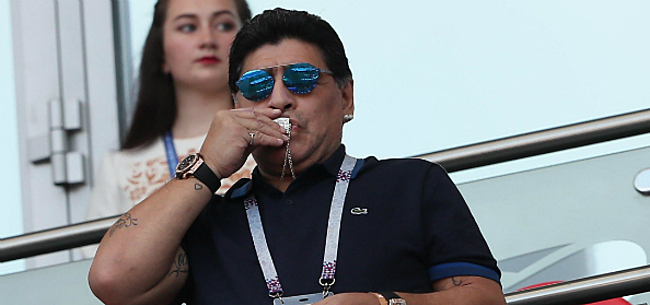 Foto: Argentijnse pers meldt overlijden van Diego Maradona