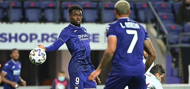 Foto: Anderlecht krijgt goed en slecht nieuws over Dimata