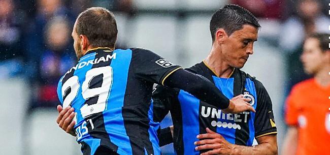 Foto: Club Brugge mét 'debutant' tegen PSG, 2 afvallers