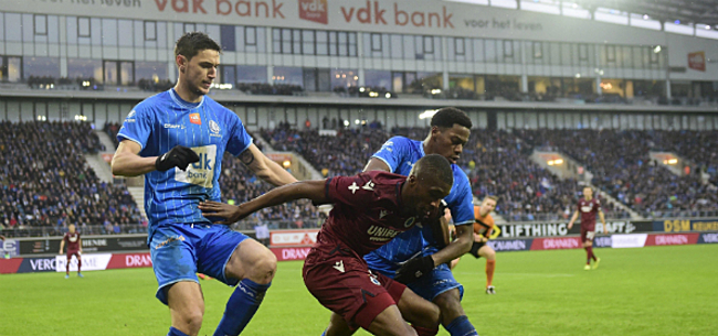 Foto: Gent-fans dagen Club uit: