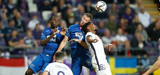 Foto: Defensie Anderlecht maakt slechte beurt:
