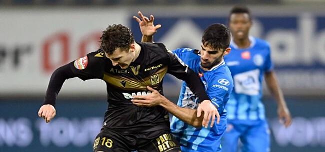 Foto: Depoitre redt punt voor Gent, ook OHL en Charleroi spelen gelijk