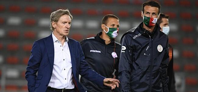 Foto: Dury verwacht reactie na pandoering tegen Club Brugge