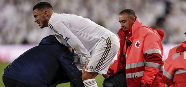 Foto: Martinez maakt zich zorgen over blessure Hazard