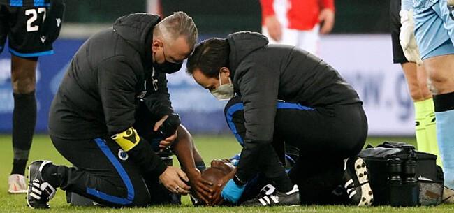 Foto: Club Brugge-middenvelder Balanta afgevoerd naar ziekenhuis