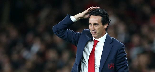 Foto: Emery doet Arsenal-boekje open: