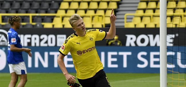 Foto: 'Haaland miljonair na transfer: 182 miljoen op vijf jaar'