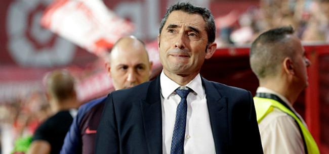 Foto: Valverde neemt afscheid: