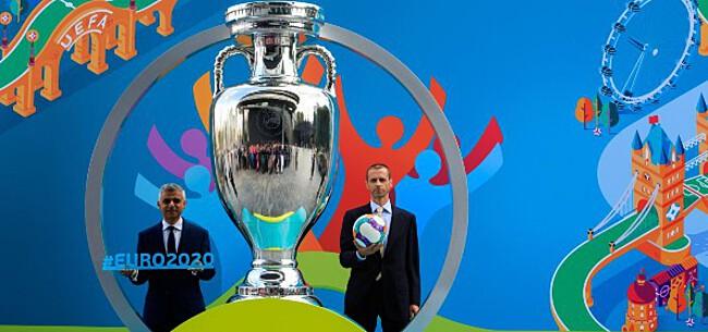 Foto: UEFA-voorzitter waarschuwt voor EK zonder publiek