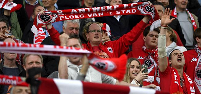Foto: Antwerp vraagt supporters om extra geduld
