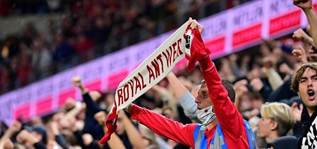 Foto: Antwerp-fans lachen met malaise Beerschot: