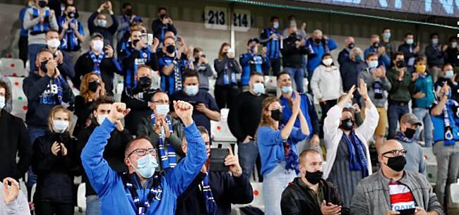 Foto: Pro League kondigt terugkeer supporters aan: voorlopig enkel thuisfans