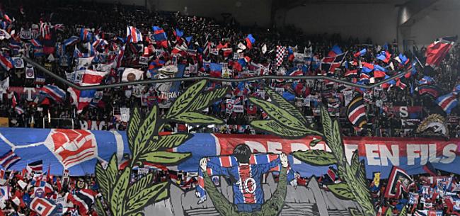 Foto: Politie zet grove middelen in om fans PSG naar het stadion te krijgen