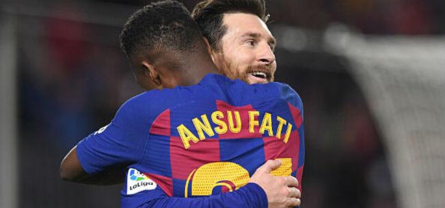 Foto: 'FC Barcelona heeft plannetje klaar met Fati'