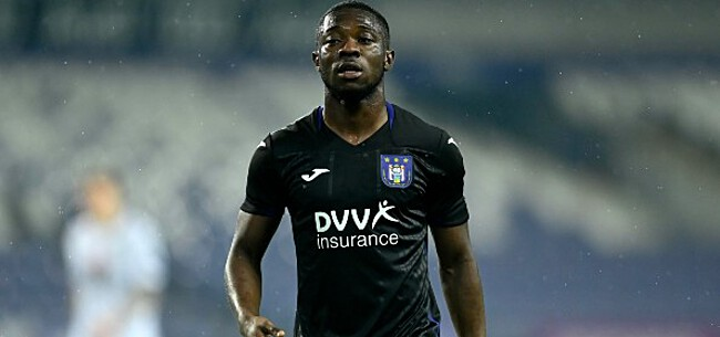 Foto: Amuzu krijgt promotie bij Anderlecht