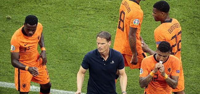 Foto: Oranje-icoon wil De Boer opvolgen: