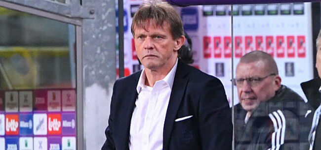Foto: Vercauteren over blessurecrisis bij Anderlecht: