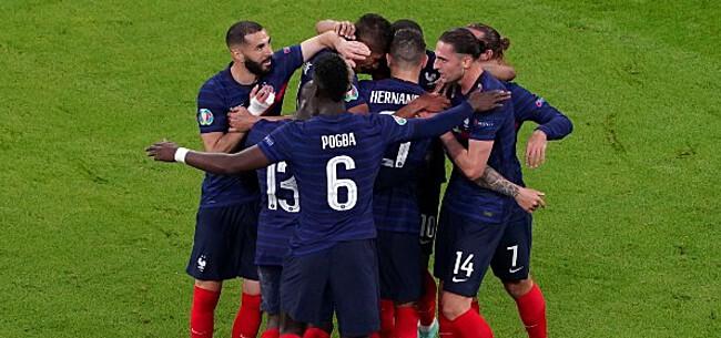 Foto: Zware kritiek op 'anti-voetbal' Frankrijk: