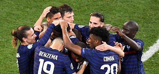 Foto: Uitschakeling Fransen ontaardt in ruzie tussen families spelers