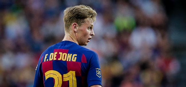 Foto: De Jong zorgt voor ophef op social media na ontslag Valverde